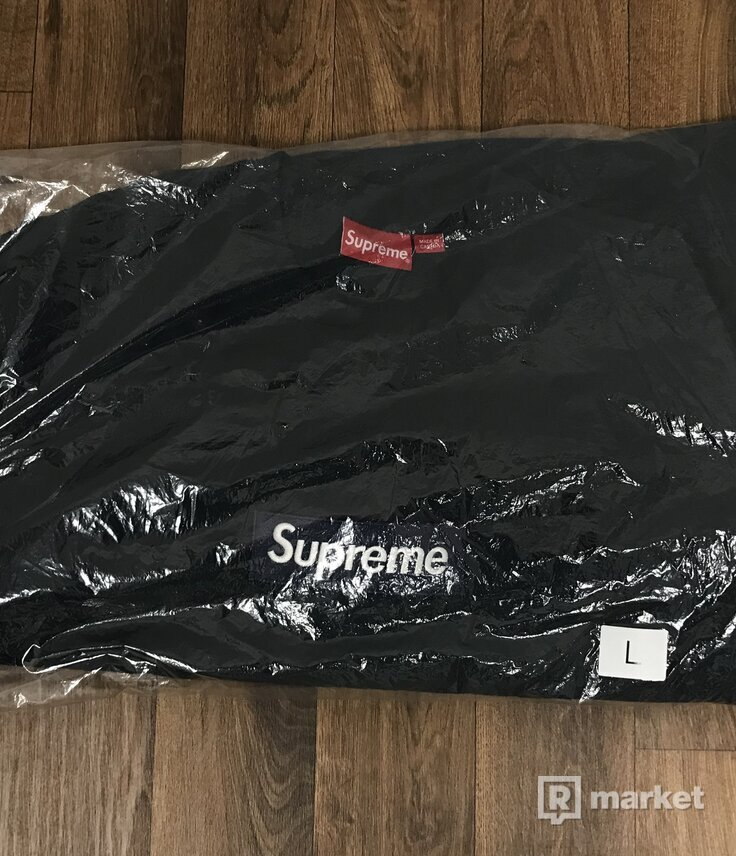 Supreme Box Logo Crewneck Navy F/W18