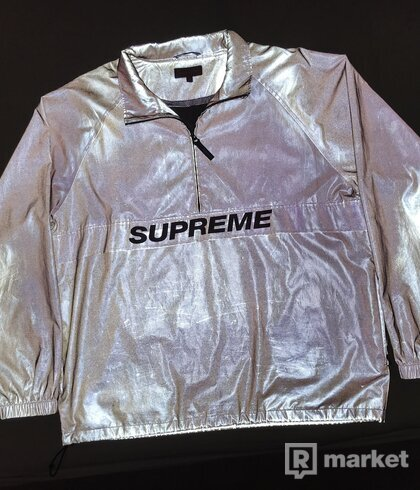 Supreme Reflective Half Zip Pullover