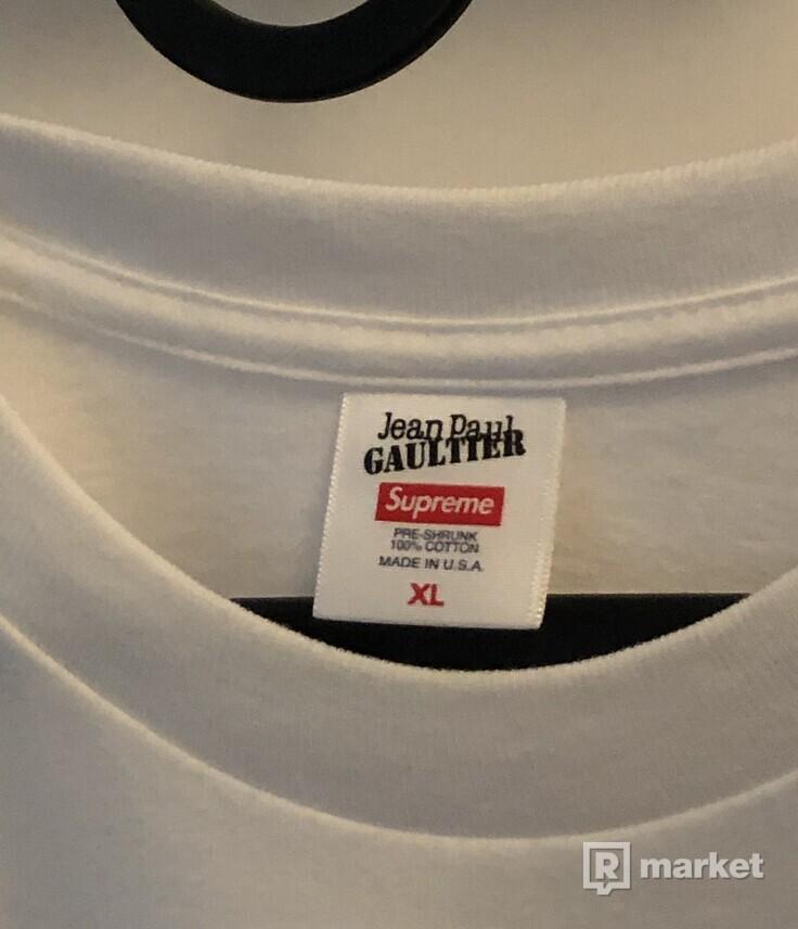 Supreme x Jean Paul Gaultier
