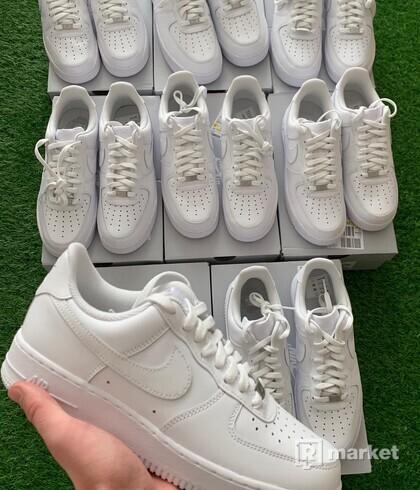 Nike Air force allwhite