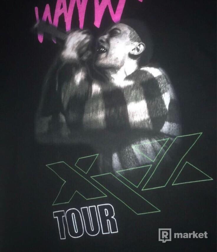 Samey XYZ tour tee