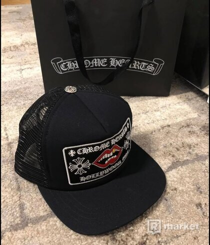 Chrome Hearts Chomper Hollywood Trucker Hat Cap