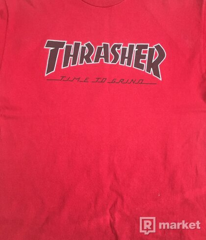 Thrasher x Independent Tee Size L