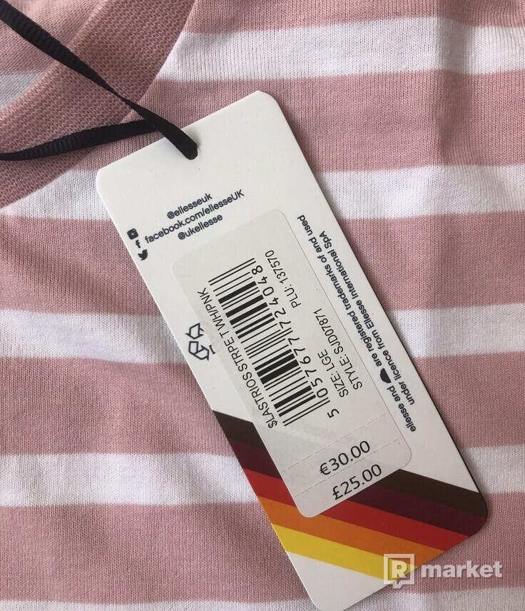 Ellesse pink stripes