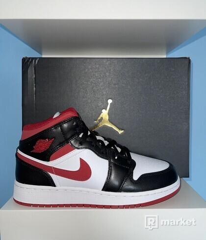 Nike AJ1 Mid Gym Red 36, 38