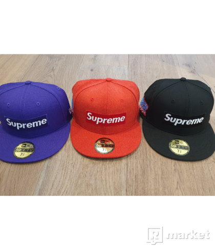 Supreme x New Era Box Logo Hat (FW20)