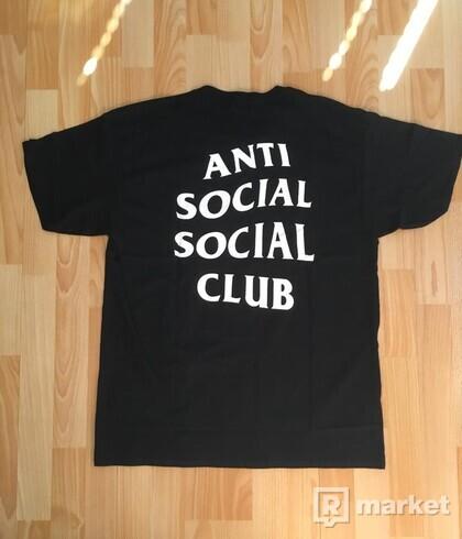 Anti Social Social Club B/W logo tee