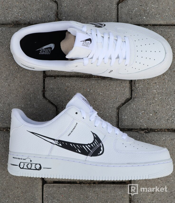 "Nike Air Force 1 Low ""Sketch"" - vel. 44"