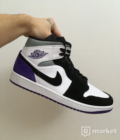 Jordan 1 Mid Union Purple [44]