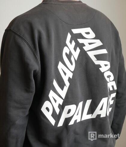 Palace P-3 Crew Black