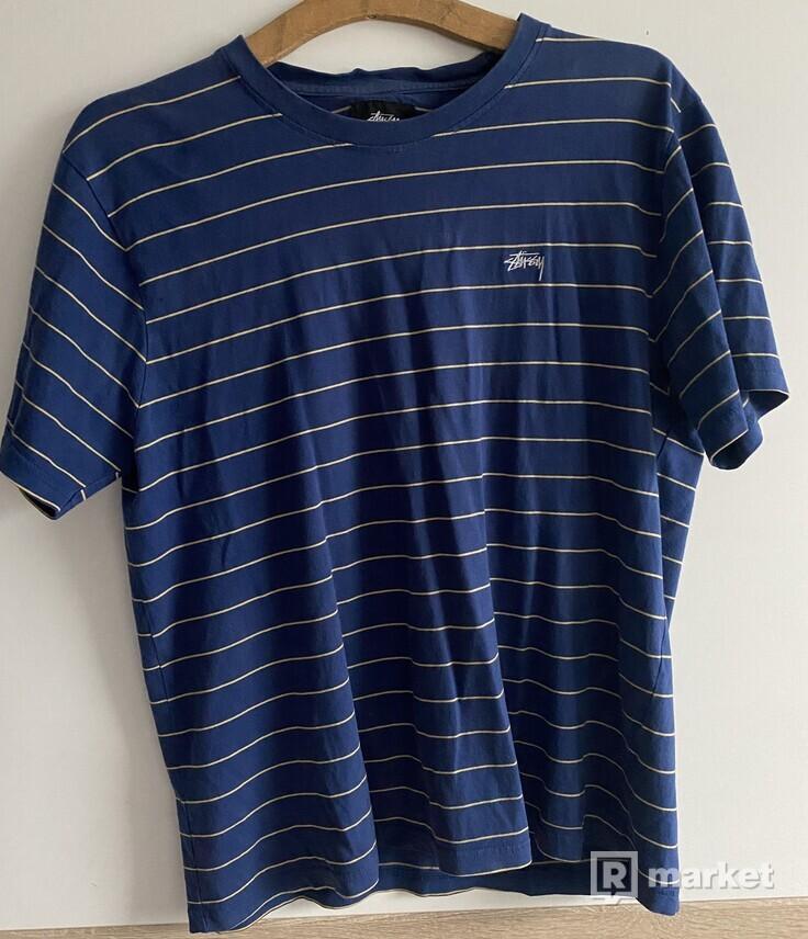 Stussy Stripe Tee Blue