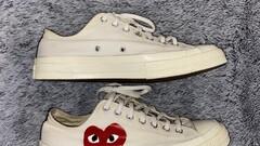 CDG x Converse, lowtop