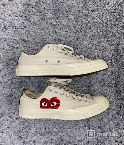 CDG x Converse, lowtop