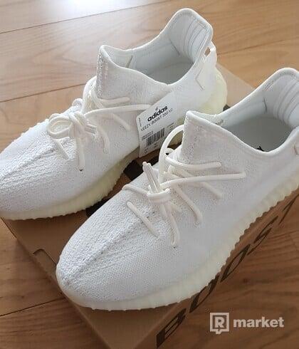 Adidas Yeezy triple white