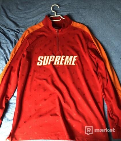 Supreme track half zip pullover