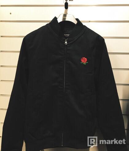 RIPNDIP We Bad Rose Zip Varsity Jacket