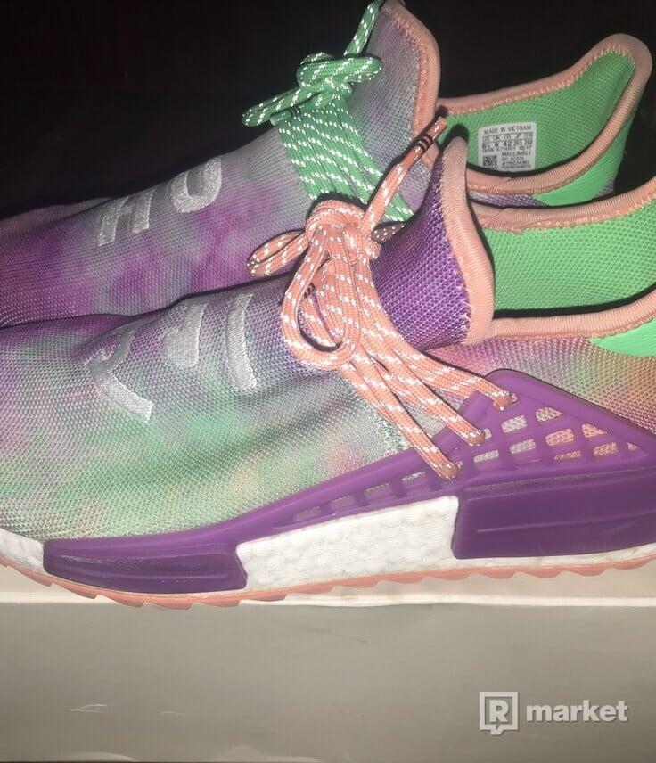 Adidas Human Race Coral