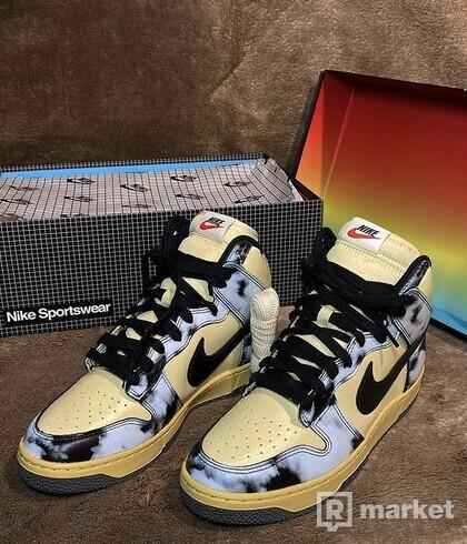 "Nike Dunk High ""Black ACID Wash"""