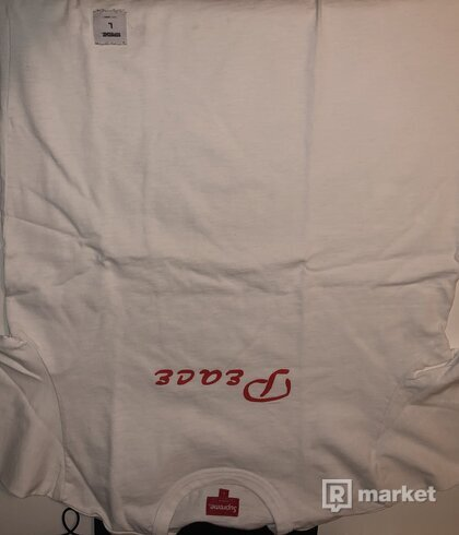 Supreme Peace S/S Tee White