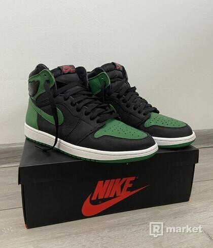 Jordan 1 Retro High Pine Green