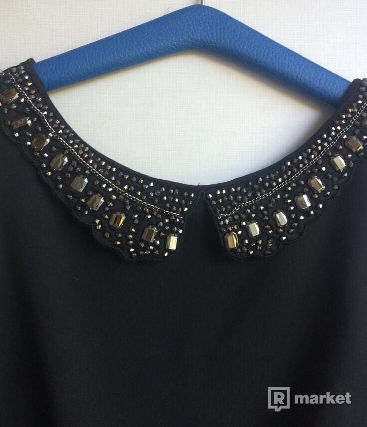 Čierne Zara šaty