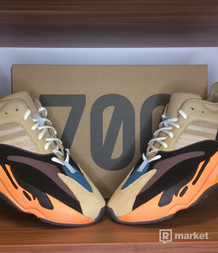 Adidas Yeezy  700 V1 'Enflame Amber' - Size US12.5/47 1/3
