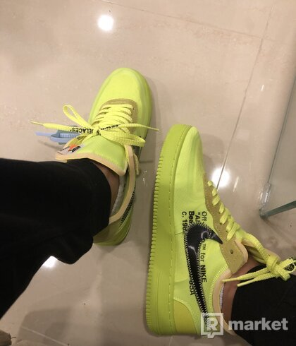 """THE 10: NIKE AIR FORCE 1 LOW """"OFF-WHITE"""""""