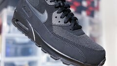 "Nike Air Max 90 Essential ""Black Anthracite Black"""