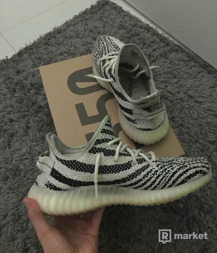 Adidas yeezy boost350v2 zebra