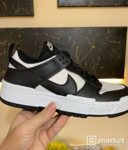 Nike Dunk Low Disrupt Black White