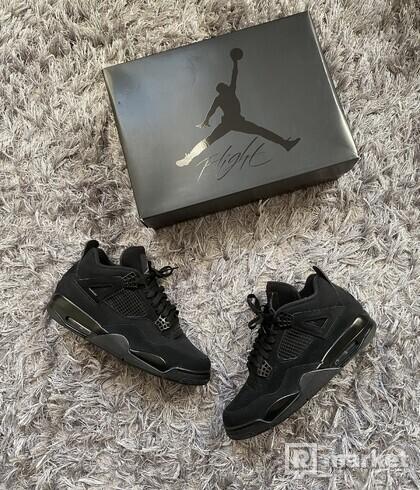 Jordan 4 Black Cat us 12