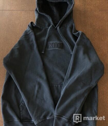 KITH Black Box Logo Hoodie
