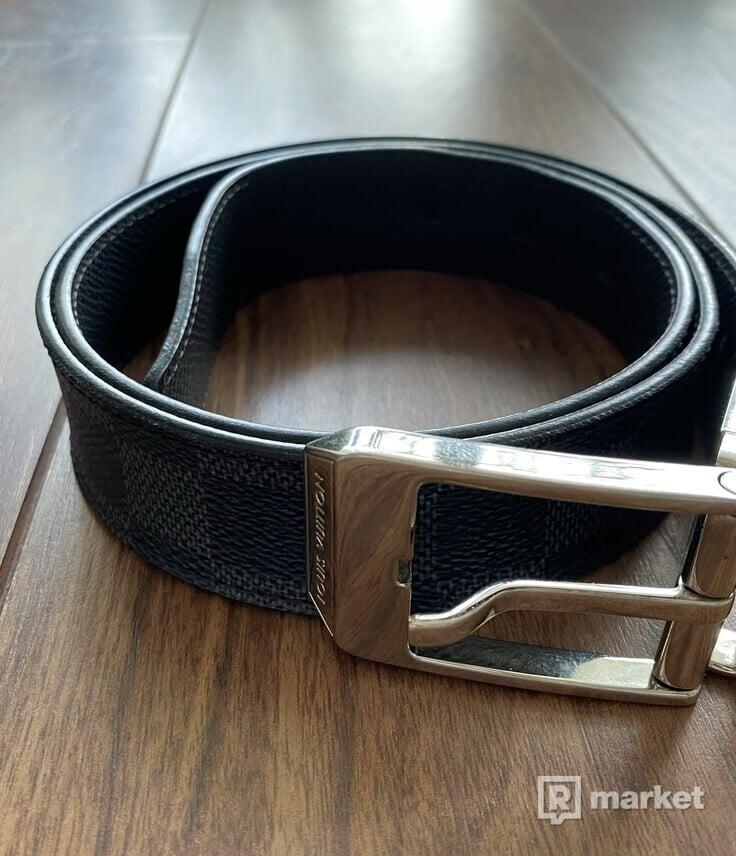 Louis Vuitton Belt VINTAGE PONT NEUF 35MM