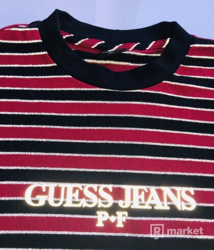 Guess x Places+Places Reflective Tee - Red