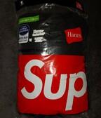 Supreme hanes tagless tees