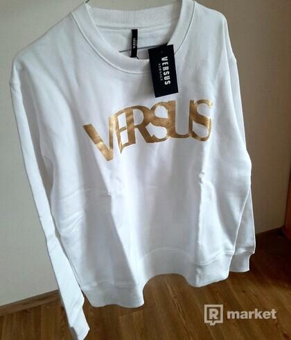 mikina Versace VERSUS bílá, 1350Kč