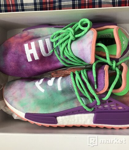 Adidas NMD x Pharell Williams Human Race Trail Chalk Coral