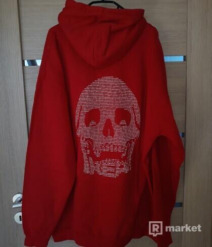 Freak clothing červená mikina