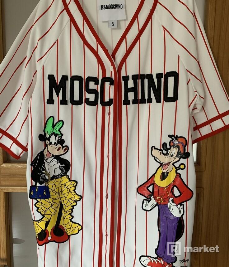 Dresové šaty H&M a moschino