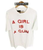 Pleasures A Girl Is A Gun Tee White