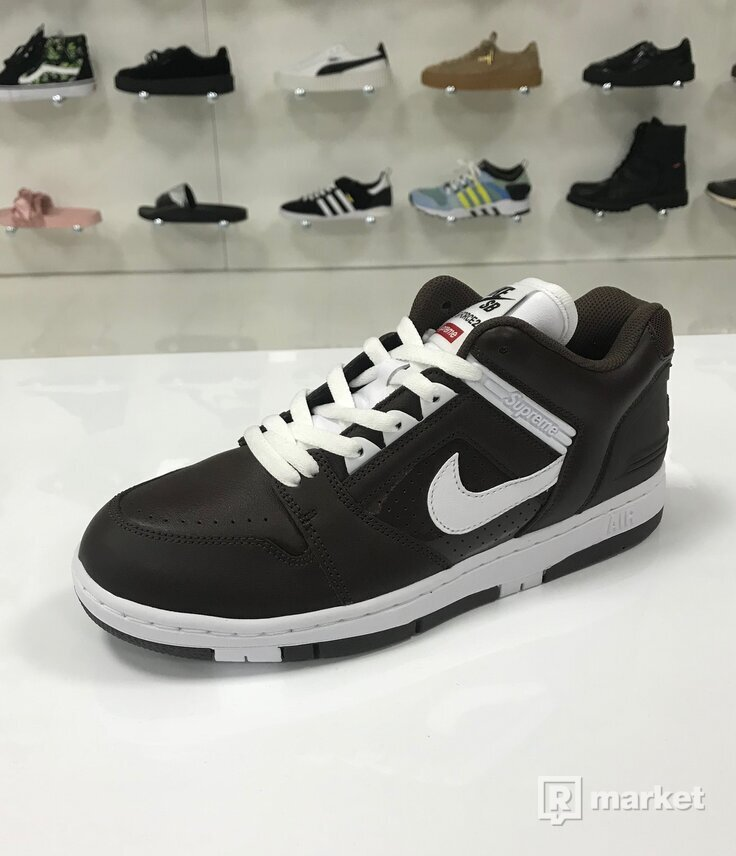 Supreme x Nike Air Force 2 SB Brown