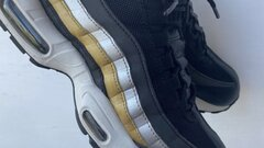 Air max 95 metallic gold/silver