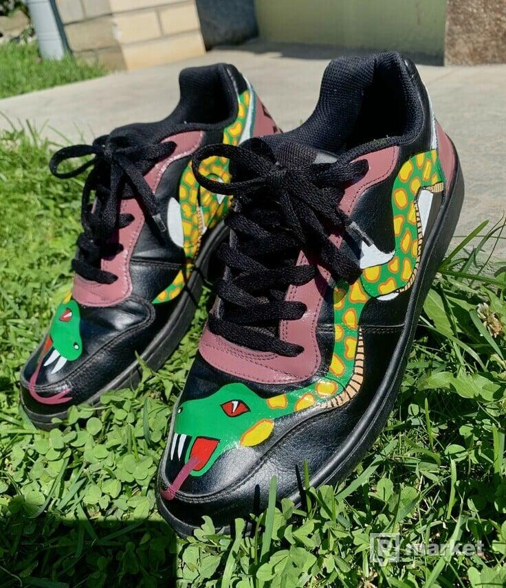 Nike Air Force x Snake Custom