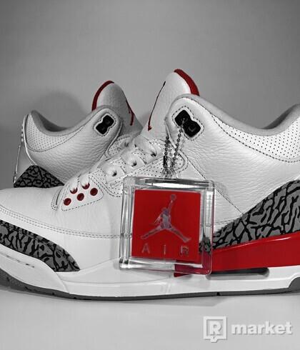 """Air Jordan Retro 3 """"Katrina"""""""