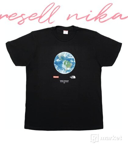 Supreme x The North Face One World tee