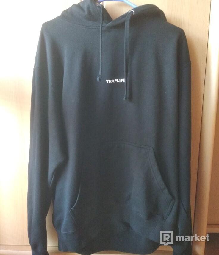 Traplife black hoodie