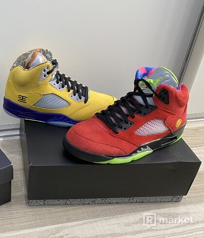 "Jordan 5 Retro ""What the"""