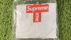 Supreme Cross Box logo white