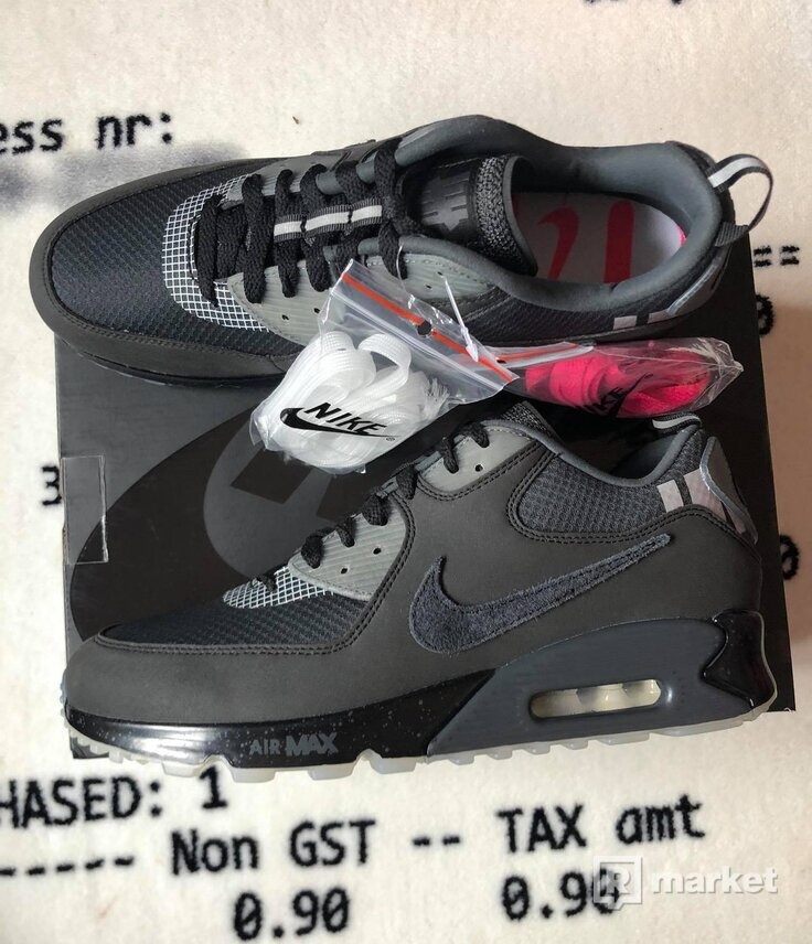 Nike Air Max 90 X Undefeated - Black