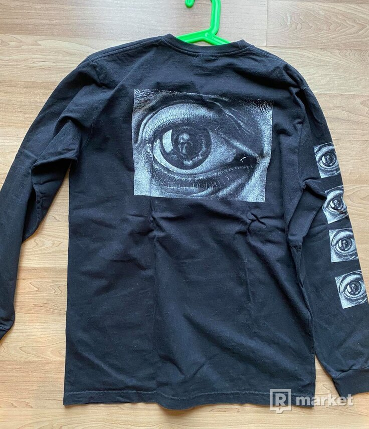 Supreme M.C. Escher Eye Long Sleeve Tee